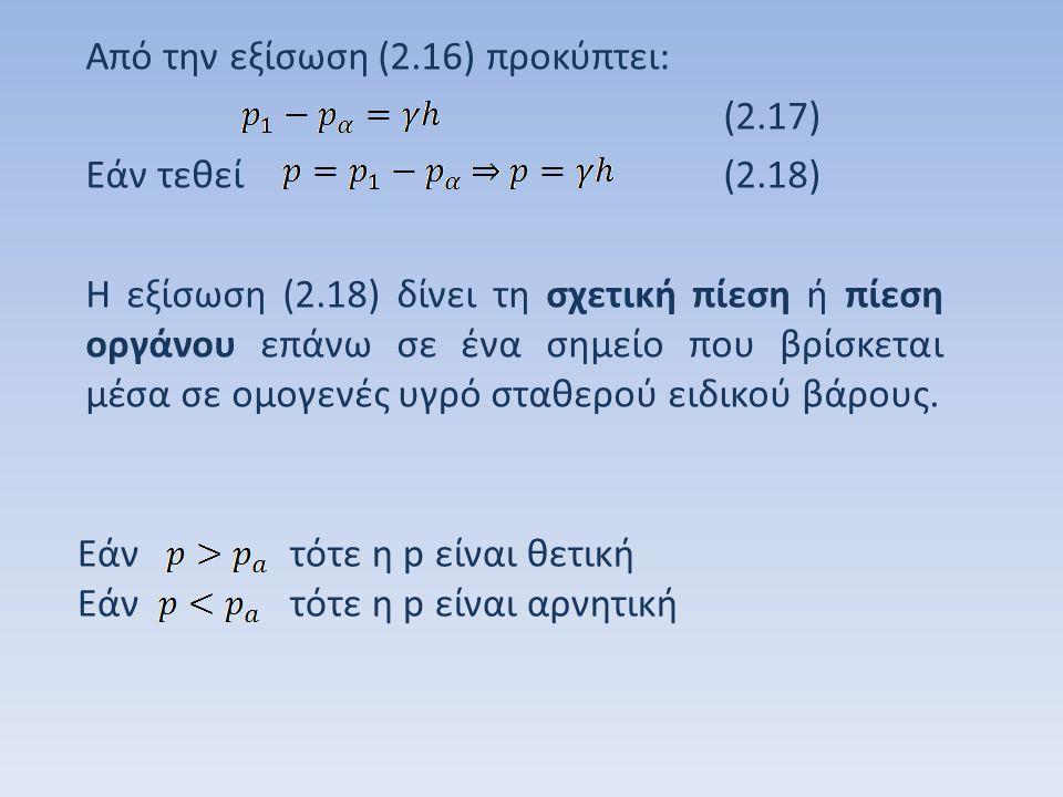 Φυσική ατμόσφαιρα: είναι η τιμή της ατμοσφαιρικής πίεσης στην επιφάνεια της θάλασσας στους 0 ο C.