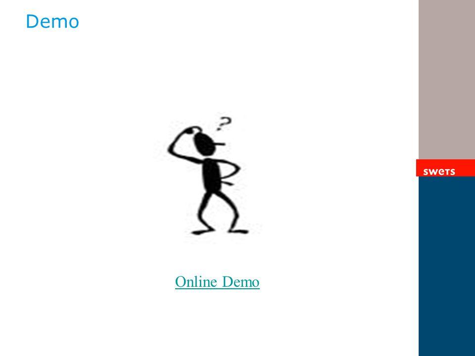 Demo Online Demo