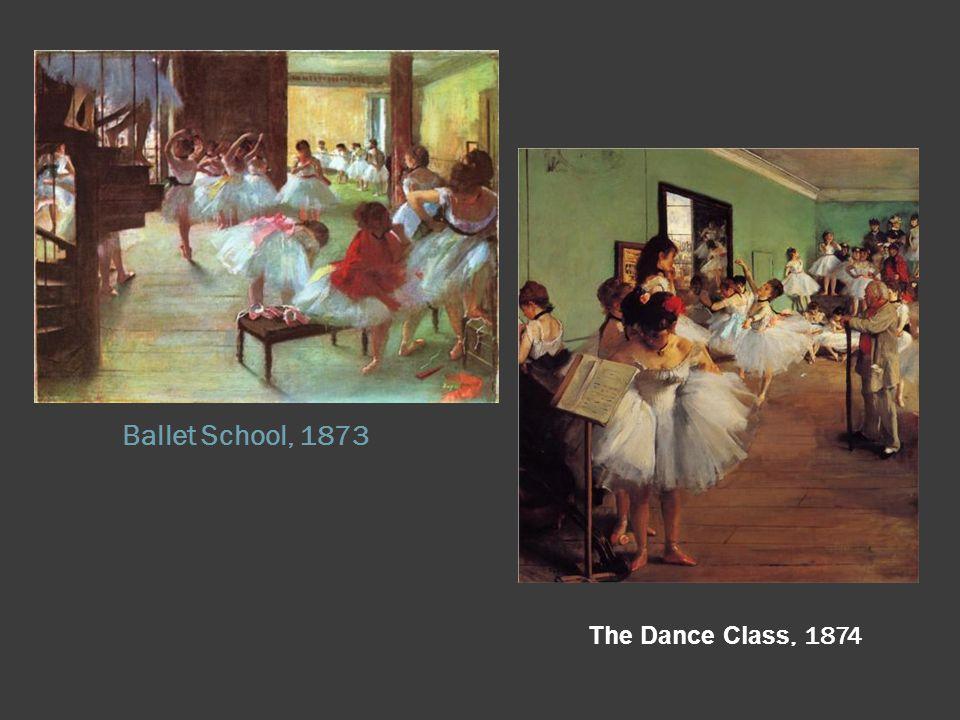 Ballet School, 1873 The Dance Class, 1874