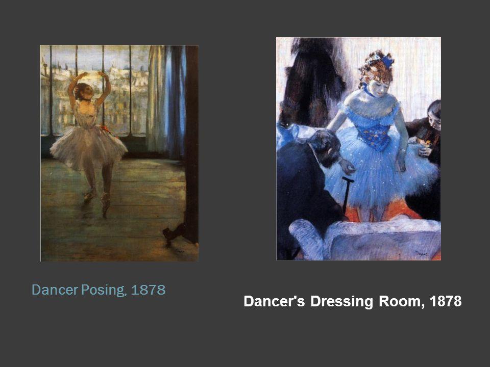 Dancer Posing, 1878 Dancer s Dressing Room, 1878