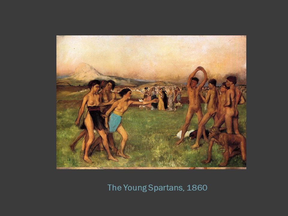 The Young Spartans, 1860
