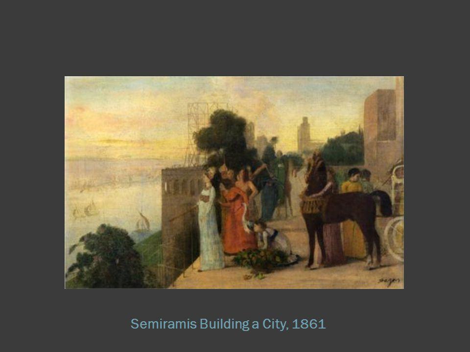 Semiramis Building a City, 1861