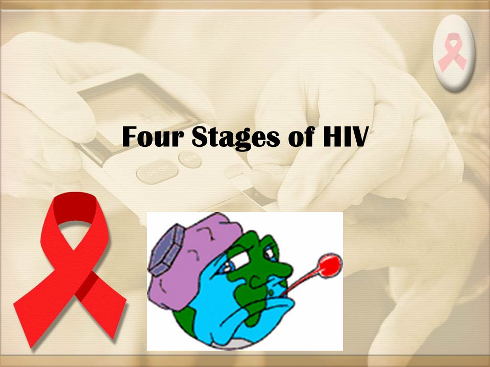 Four Stages of HIV