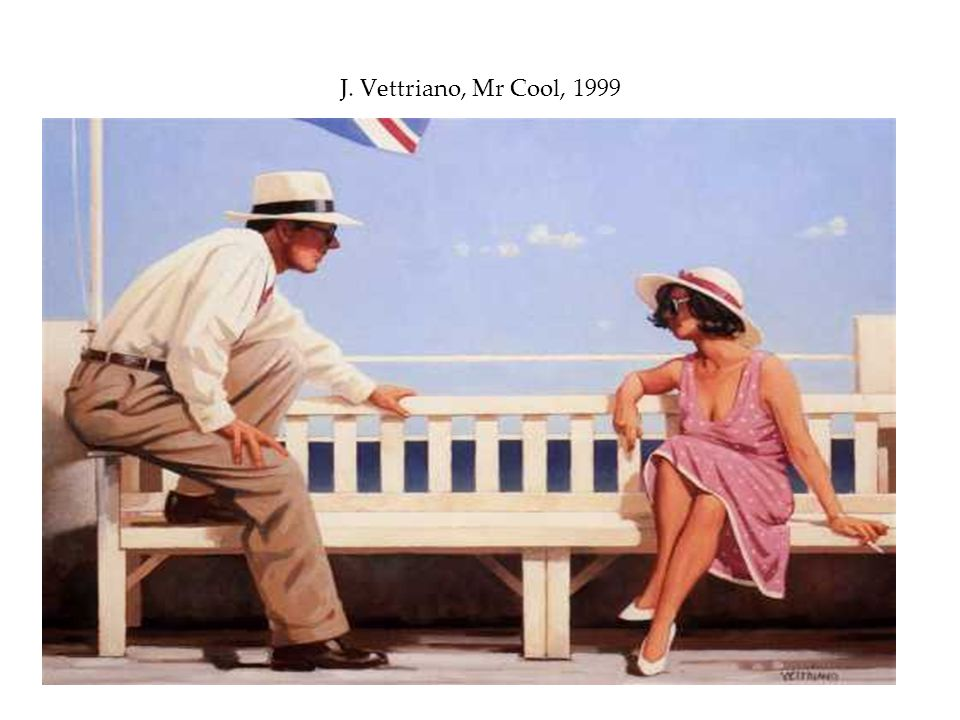 J. Vettriano, Mr Cool, 1999