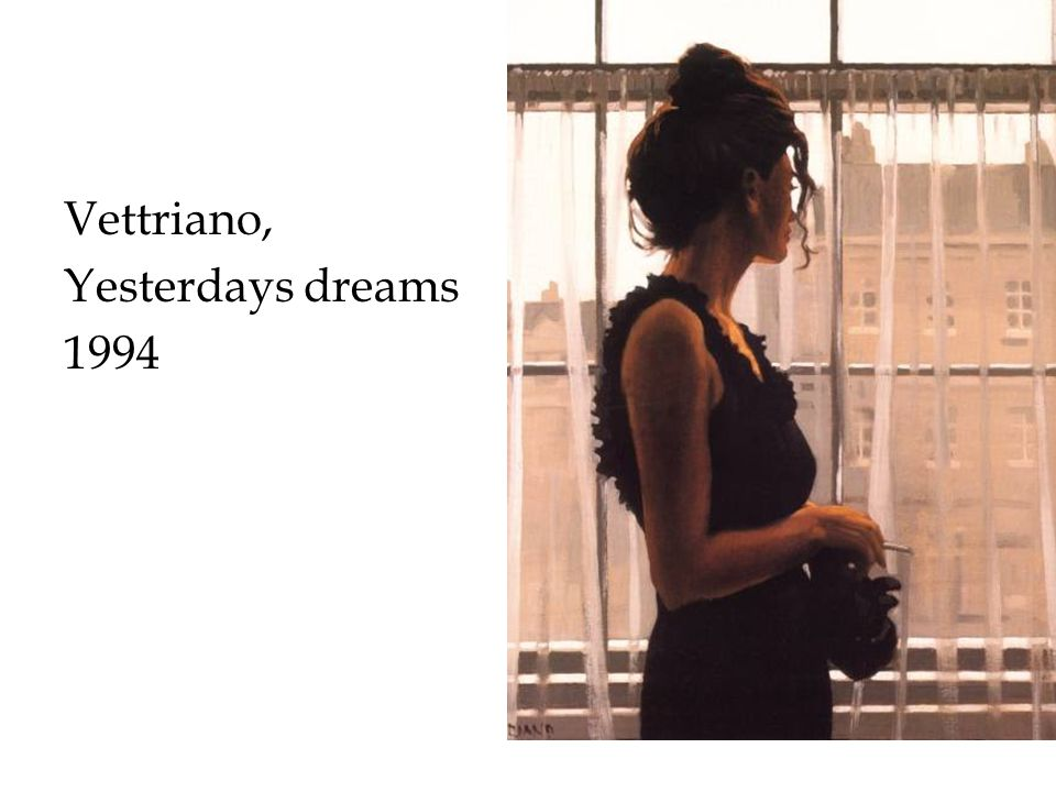 Vettriano, Yesterdays dreams 1994