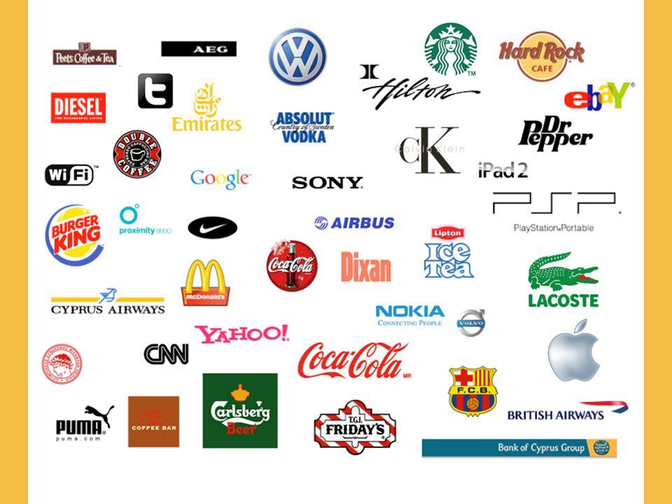 είναι το σύμβολο μιας εταιρείας, ενός αντικειμένου, μιας έκδοσης, ενός προσώπου, μιας υπηρεσίας ή μιας ιδέας