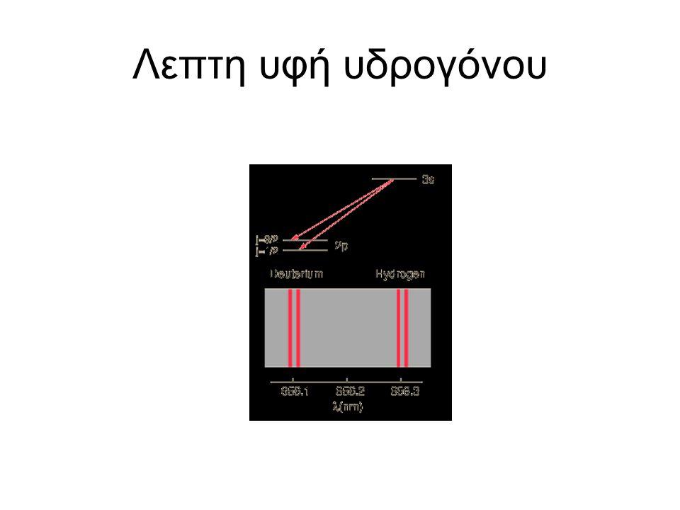 Λεπτη υφή υδρογόνου