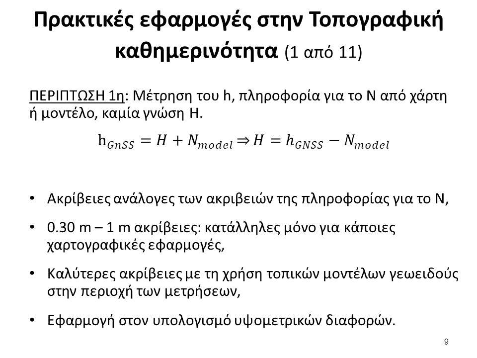 Πρακτικές εφαρμογές στην Τοπογραφική καθημερινότητα (1 από 11) 9