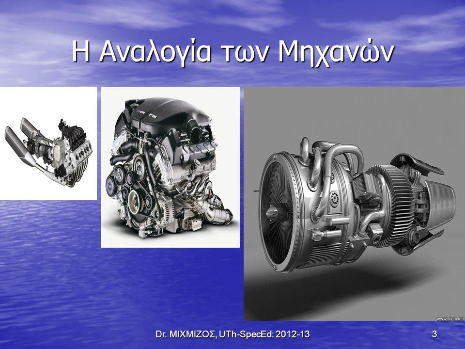 Dr. ΜΙΧΜΙΖΟΣ, UTh-SpecEd: 2012-13 54 ΠΑΡΟΥΣΙΑΣΕΙΣ
