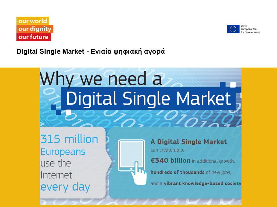 Digital Single Market - Ενιαία ψηφιακή αγορά
