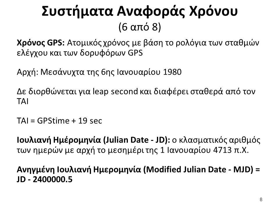 Συστήματα Αναφοράς Χρόνου (7 από 8) AxialTiltObliquity , από Dna-webmaster διαθέσιμο με άδειαCC BY 3.0AxialTiltObliquityDna-webmasterCC BY 3.0 Η γεωμετρία της γήινης τροχιάς 9