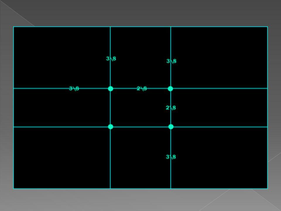 Ο Κανόνας των Τρίτων βασίζεται στο γεγονός ότι το ανθρώπινο μάτι από φυσικού του προσελκύεται από τα σημεία που βρίσκονται περίπου στα δύο τρίτα της εικόνας.