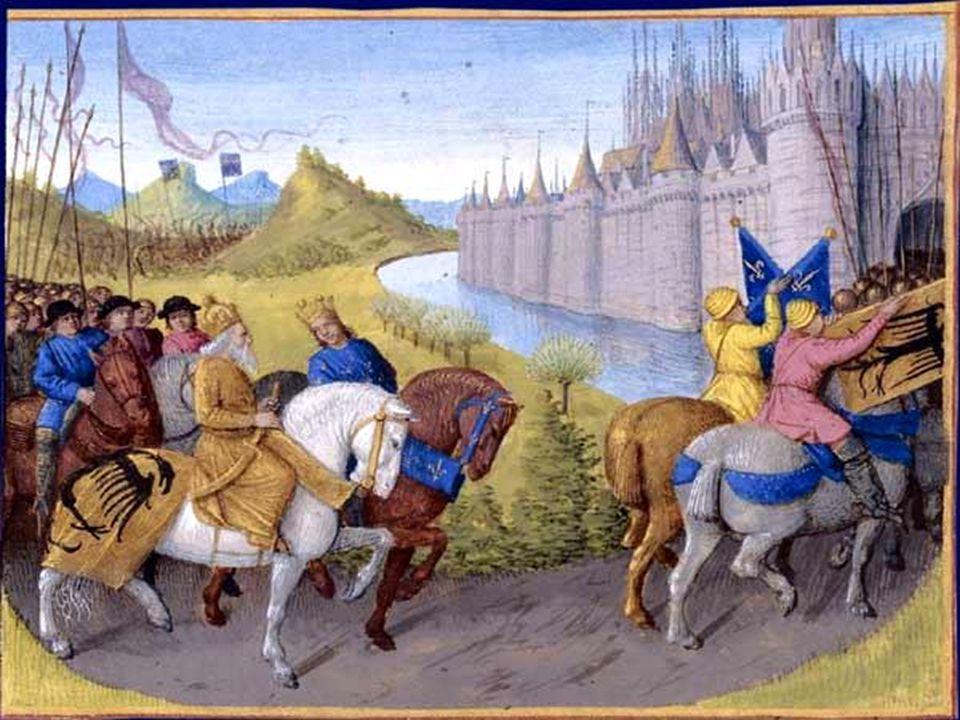 Όταν ο σουλτάνος της Αιγύπτου κυρίευσε την Ιερουσαλήμ το 1187, η Ευρώπη αναστατώθηκε και πάλι.