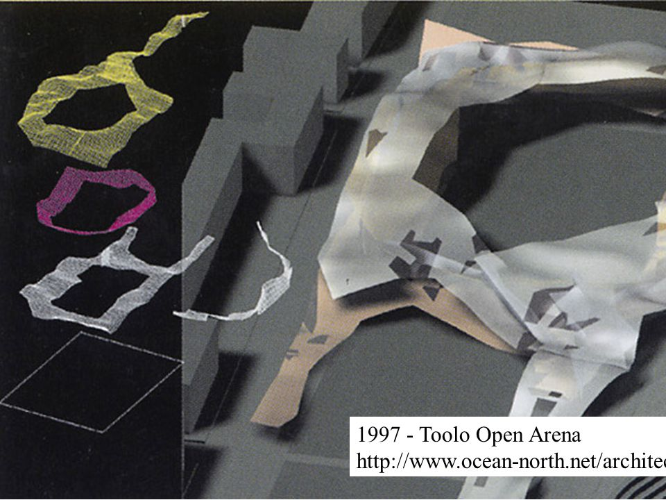 1997 - Toolo Open Arena http://www.ocean-north.net/architecture/toolo/01.html