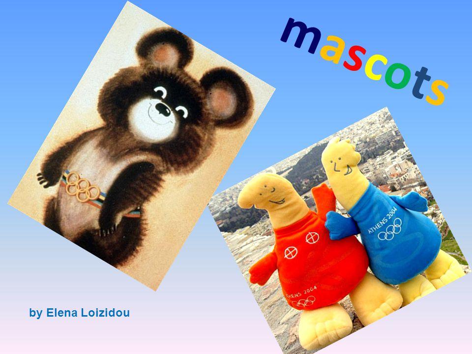 m a s c o t s by Elena Loizidou