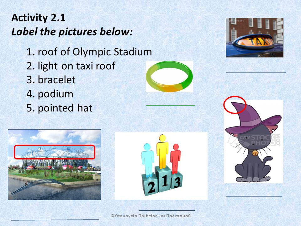 Follow up Activity: Mini Project (individual or group work) Organise a PPT presentation on one of the topics below and present it to your classmates: ' Mascots in Modern Olympic Games' Explain what the role of mascots is, when they were first used, which mascots were the most popular and which ones were the least popular.