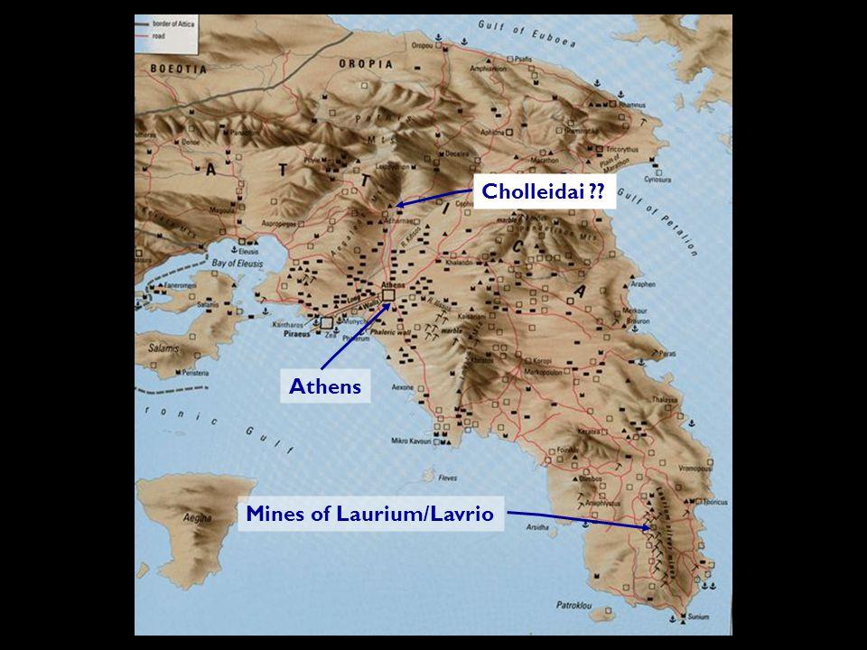 Athens Cholleidai Mines of Laurium/Lavrio