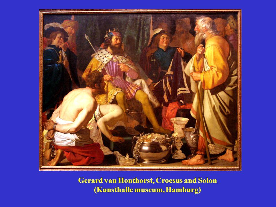 Gerard van Honthorst, Croesus and Solon (Kunsthalle museum, Hamburg)