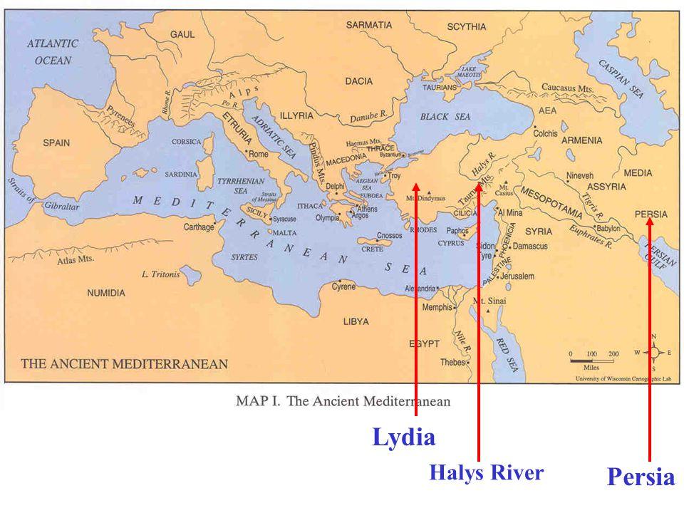 Persia Lydia Halys River