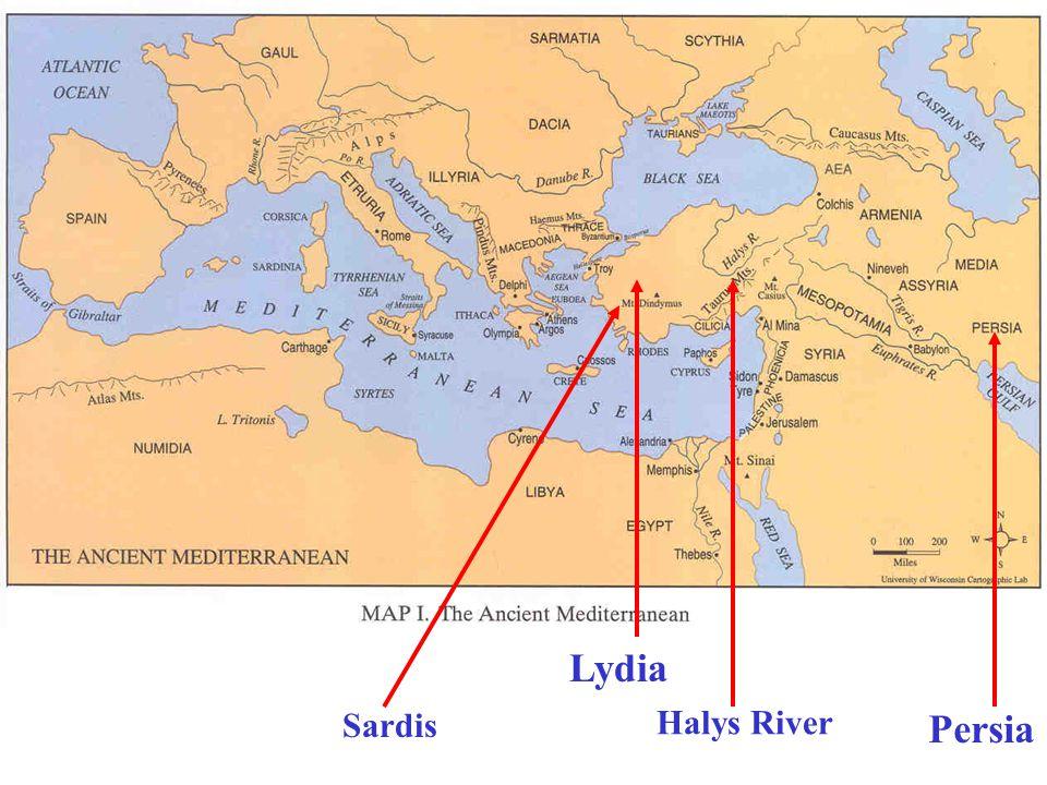 Persia Lydia Halys River Sardis
