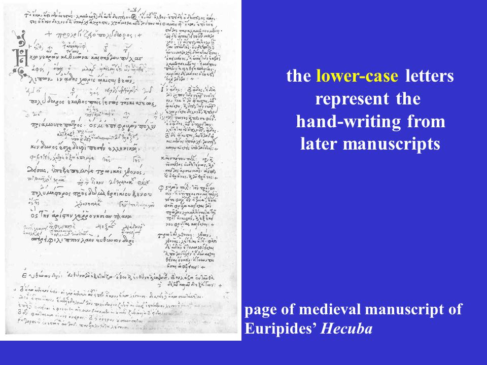 The Classical Greek alphabet for the printing press Capitals and cursives combined
