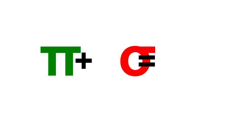 π σ + =