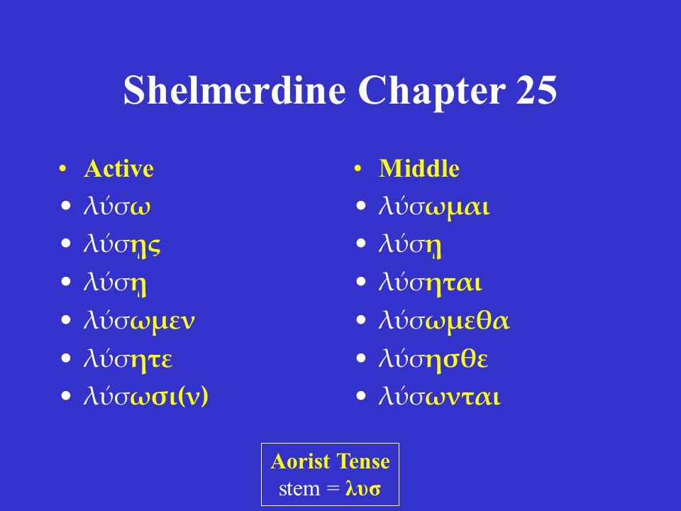 Shelmerdine Chapter 25 1.