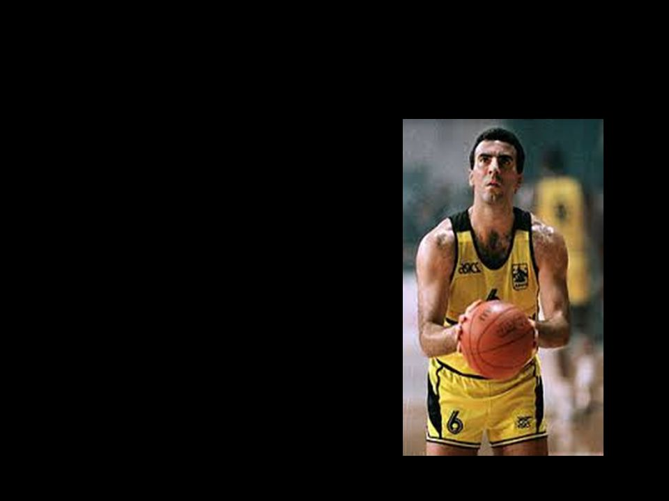 ΝΙΚΟΣ ΓΚΑΛΗΣ NIKOS GALIS Nikos Galis is Greek- American former basketball player.