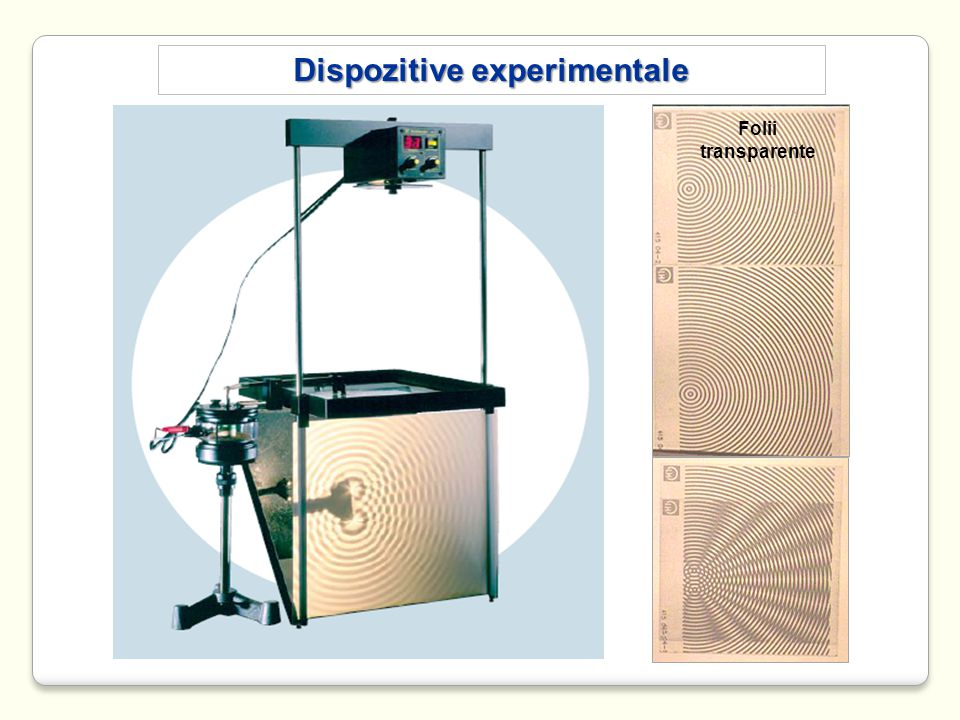 Dispozitive experimentale Folii transparente