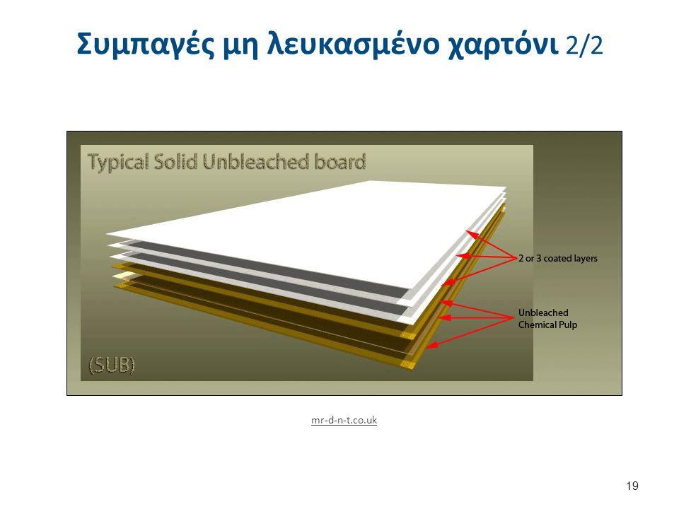 Συμπαγές μη λευκασμένο χαρτόνι 2/2 19 mr-d-n-t.co.uk