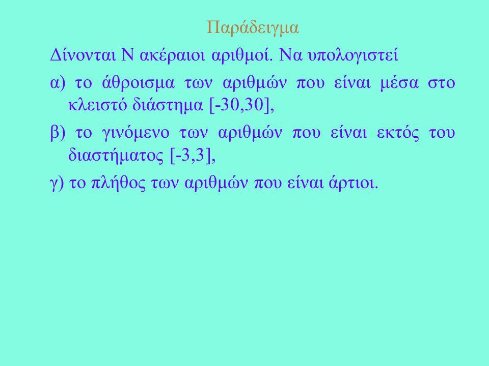 PROGRAM FACTORIAL IMPLICIT NONE INTEGER N, I, P 10READ*, N P=1 IF (N<0) THEN GOTO 10 ELSE IF(N==0) PRINT*, '0!=1' ELSE DO I=1,N P=P*I END DO END IF PRINT*, 'N!=',P END PROGRAM FACTORIAL