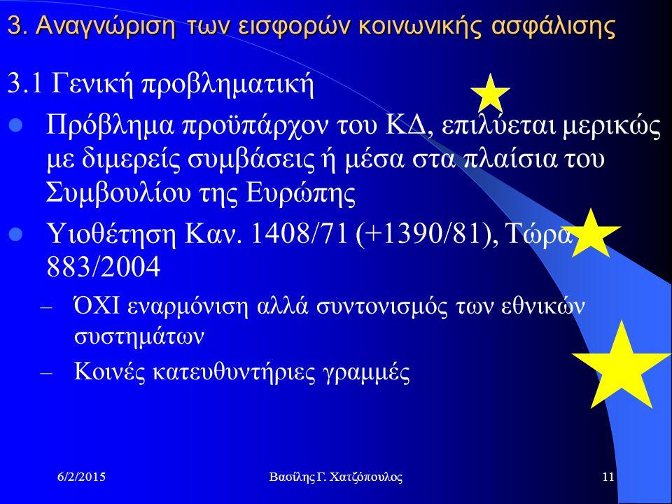 6/2/2015Βασίλης Γ. Χατζόπουλος11 3.