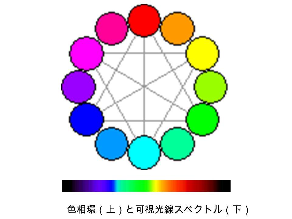 光受容色素のスペクトル