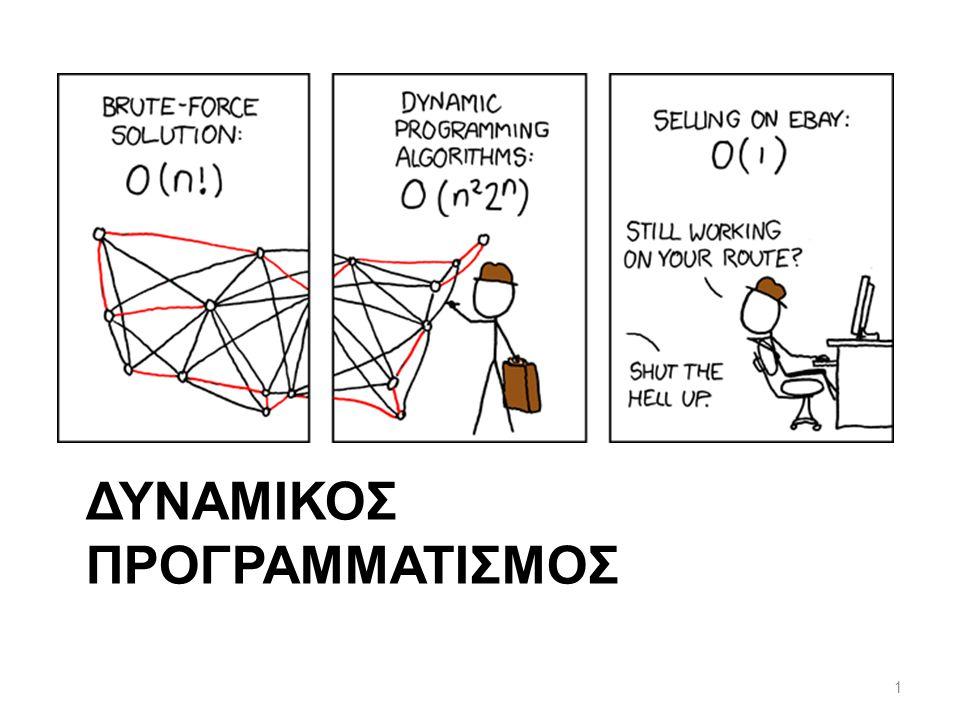 ΔΥΝΑΜΙΚΟΣ ΠΡΟΓΡΑΜΜΑΤΙΣΜΟΣ 1