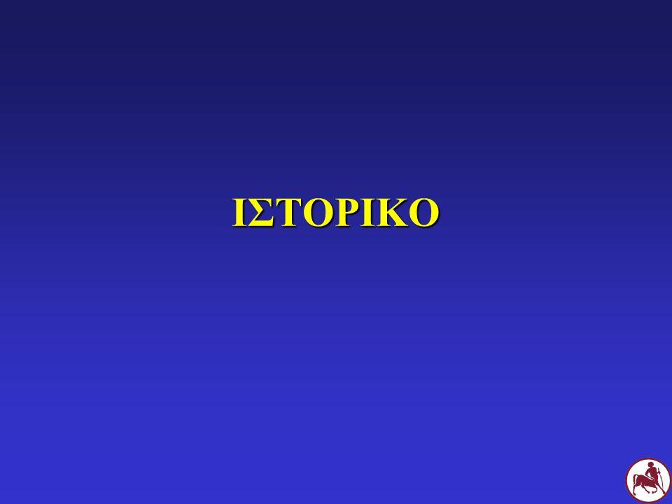 ΤΥΜΠΑΝΙΚΟΣ ΥΜΕΝΑΣ Μυριγγίτιδα: θολερός, αλλαγή χρώματος Μερική ρήξη Απουσία Δ.Δ.