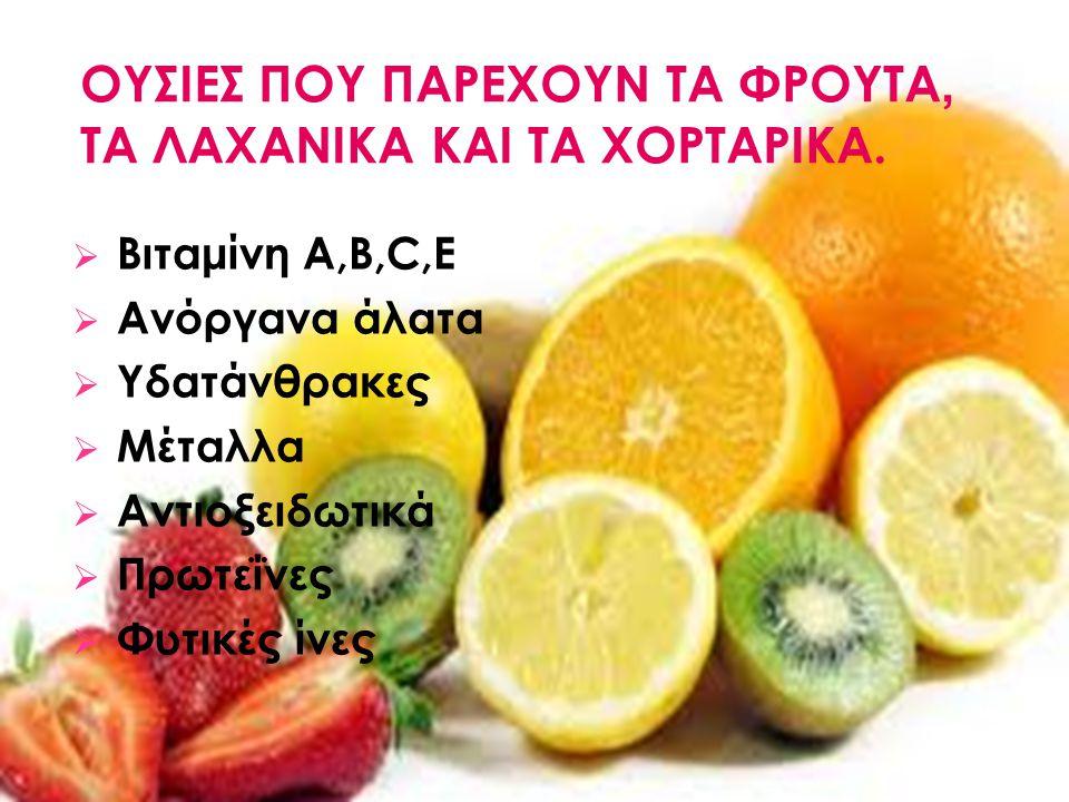 «Τρώτε τα φρούτα και τα λαχανικά σας». Έχετε ακούσει πιθανόν αυτή τη δήλωση από την παιδική σας ηλικία. Τα φρούτα, τα λαχανικά και τα χορταρικά είναι