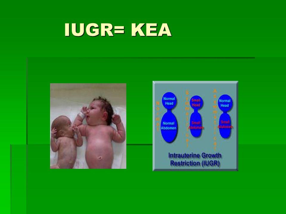 IUGR= KEA IUGR= KEA