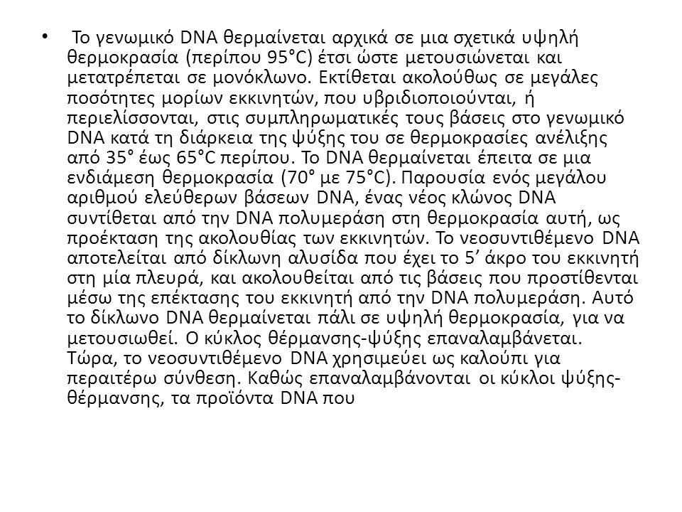 Εικόνα 3.19.Η διαδικασία PCR.