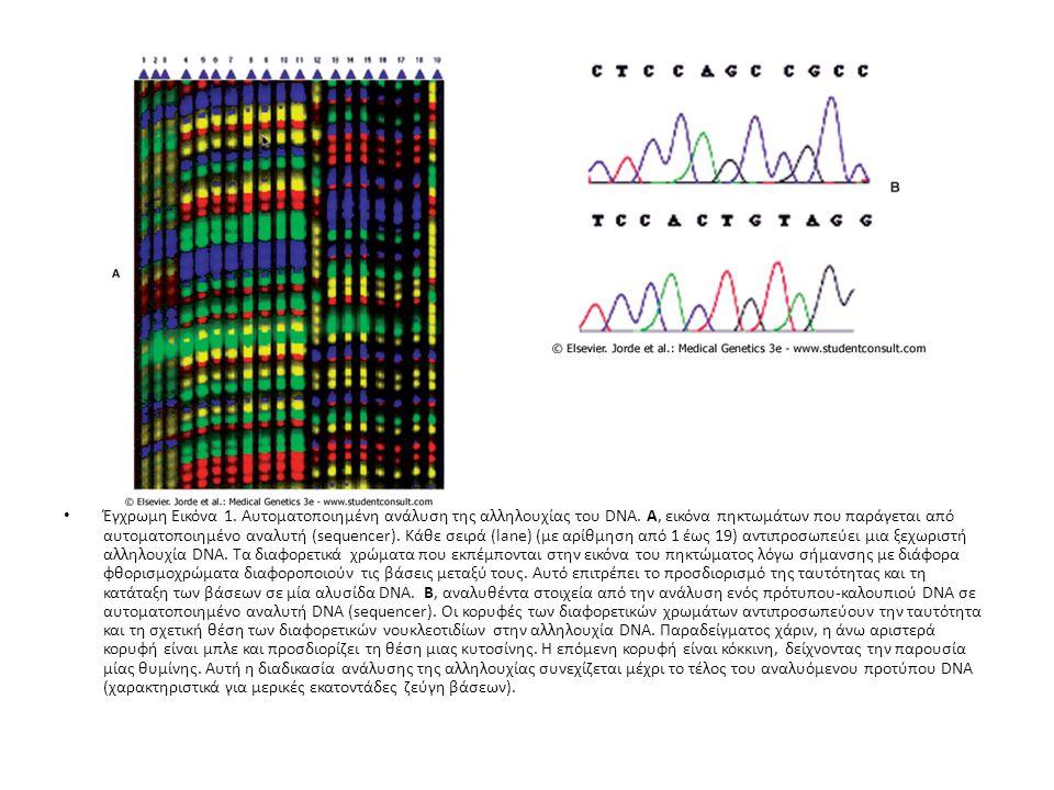 Αυτοματοποιημένοι αναλυτές (automated sequencers) μπορούν επίσης να προσαρμοστούν στον έλεγχο STRPs, μονονουκλεοτιδικών πολυμορφισμών, και άλλων τύπων πολυμορφισμών.