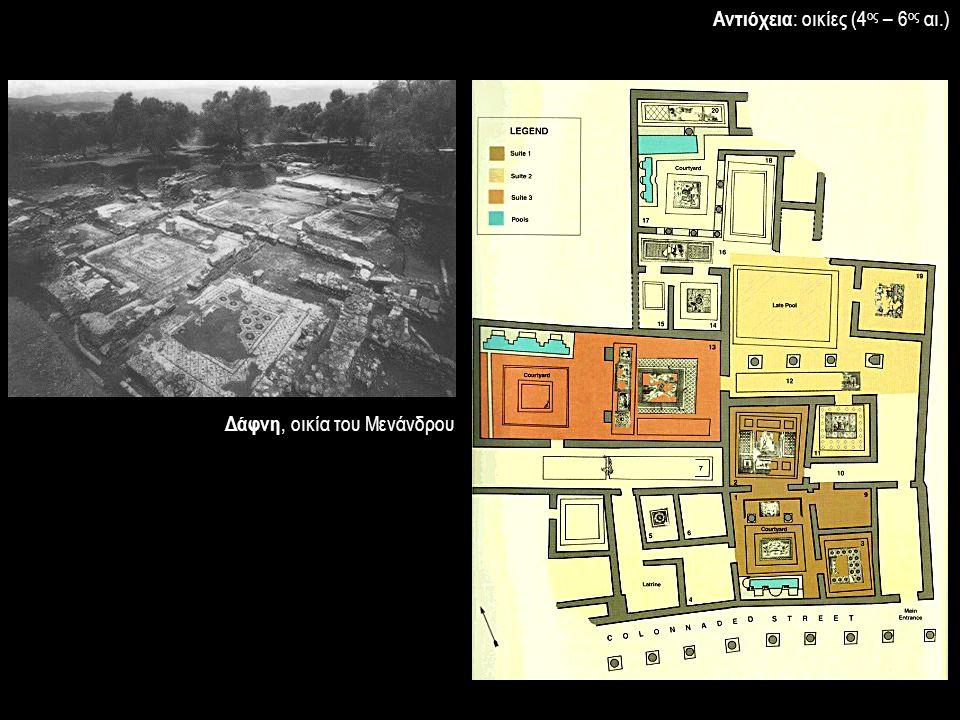 Δάφνη, οικία του Μενάνδρου Αντιόχεια : οικίες (4 ος – 6 ος αι.)