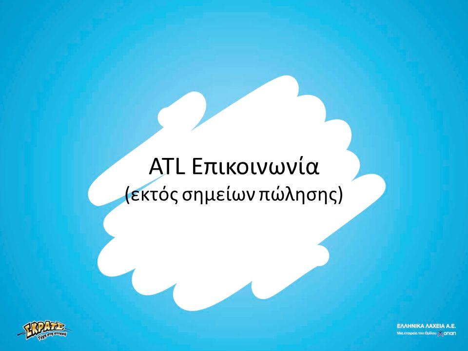 ATL Επικοινωνία (εκτός σημείων πώλησης)