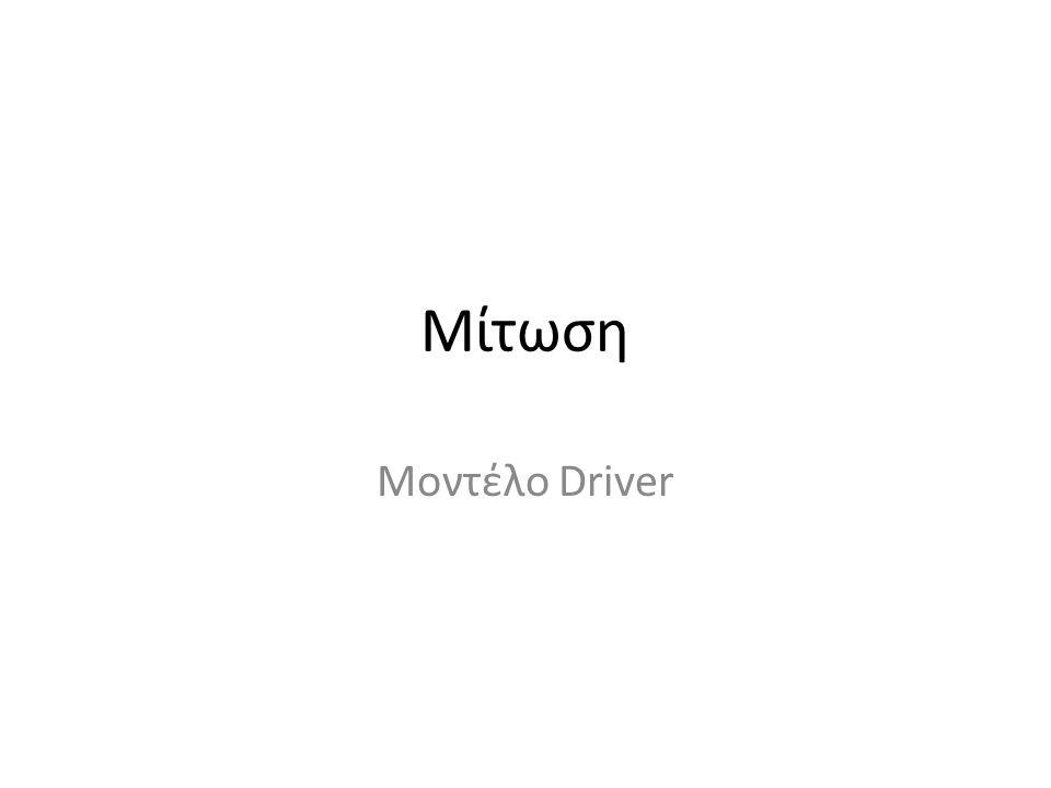 Μίτωση Μοντέλο Driver