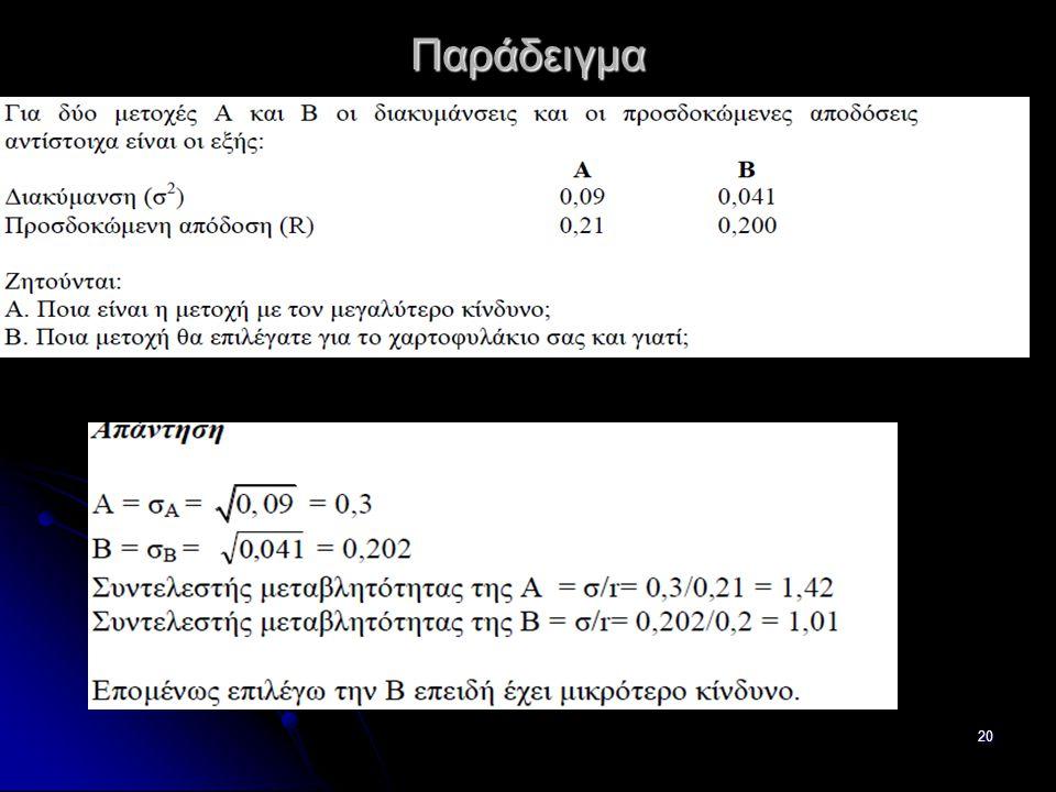 Παράδειγμα 20