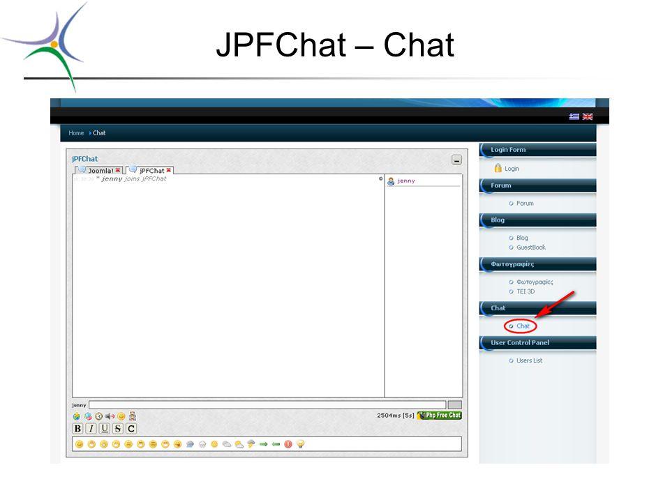 JPFChat – Chat