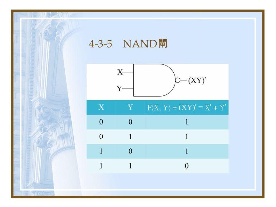 4-3-5 NAND 閘