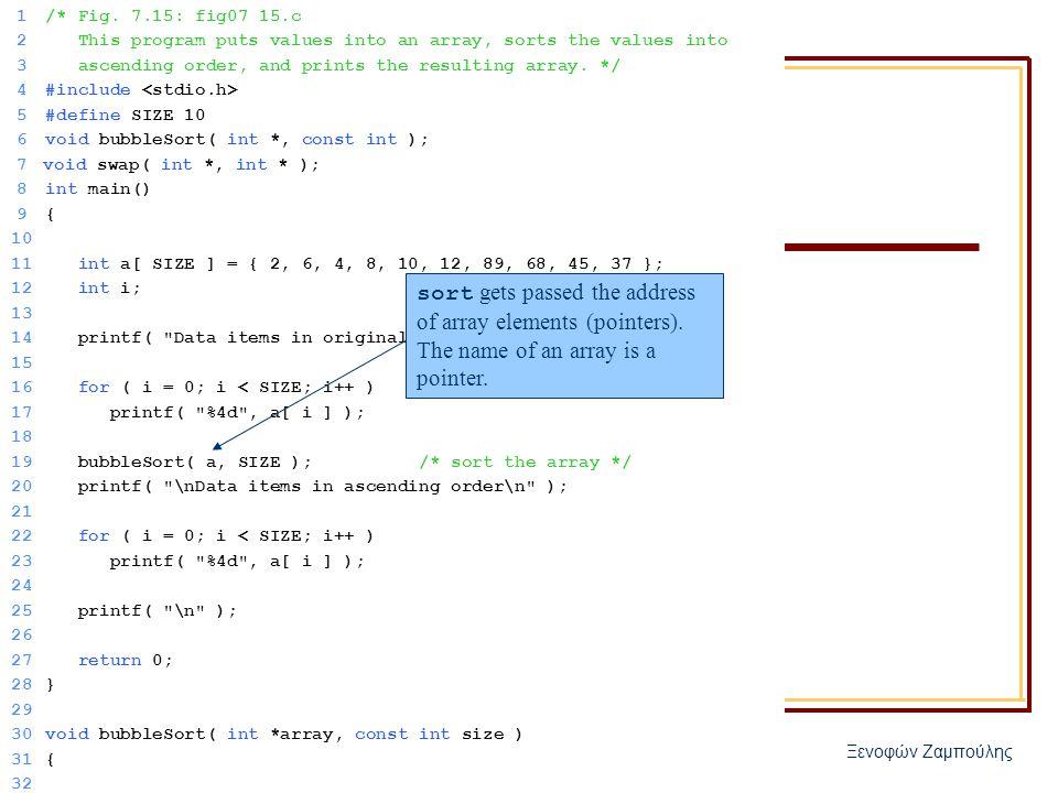 ΗΥ 150 – Προγραμματισμός Ξενοφών Ζαμπούλης 1/* Fig.