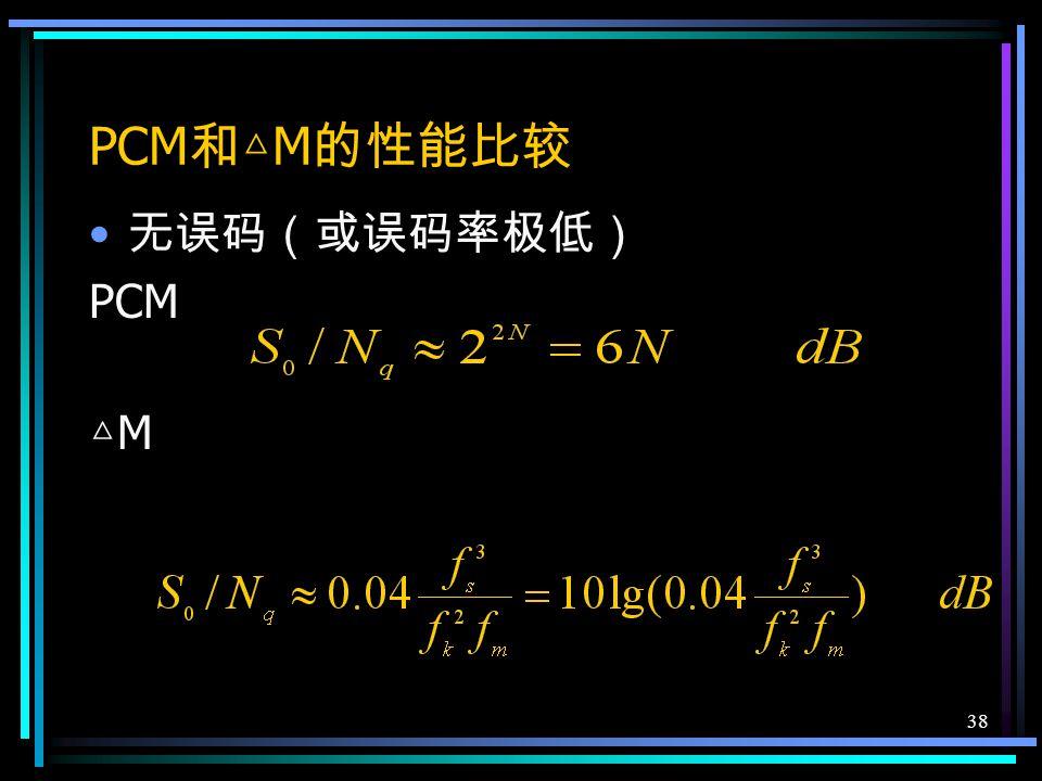37 在临界条件下,系统将有最大的信号 功率输出 用 dB 表示 9dB/ 倍频 程 -6dB/ 倍频 程