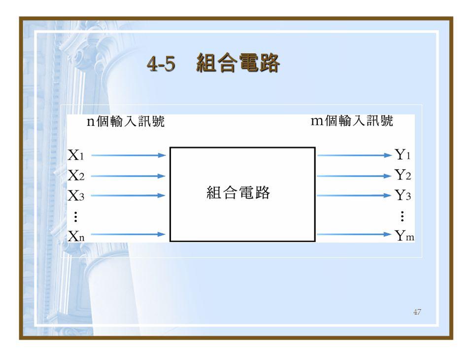 47 4-5 組合電路