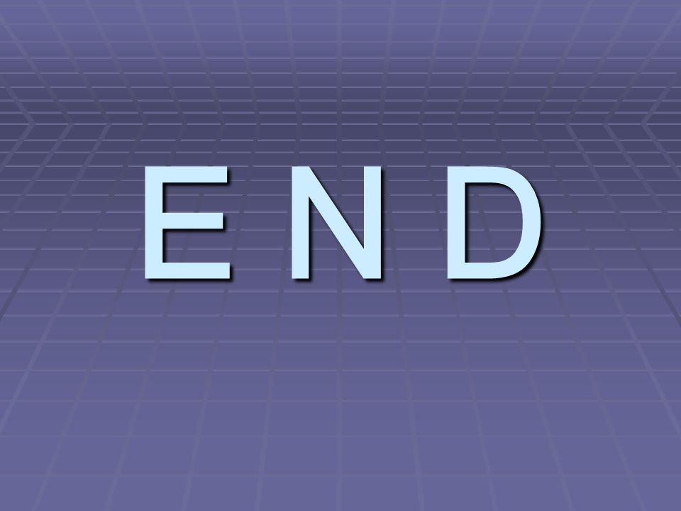 E N D