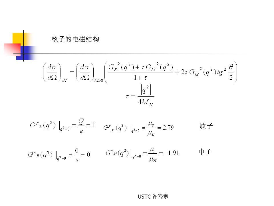 USTC 许咨宗 质子 中子 核子的电磁结构